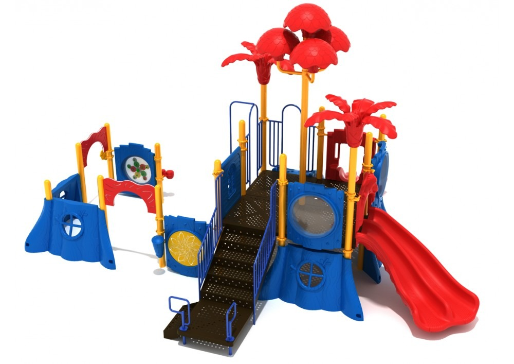 brown bear commercial playground system 1