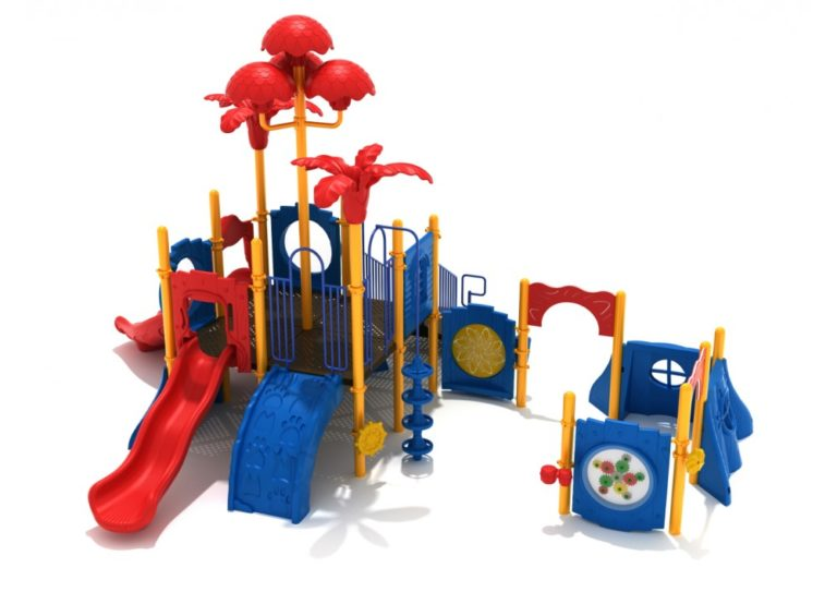 brown bear commercial playground system 2