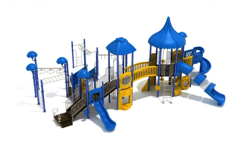 crazy capuchin commercial playground system 2