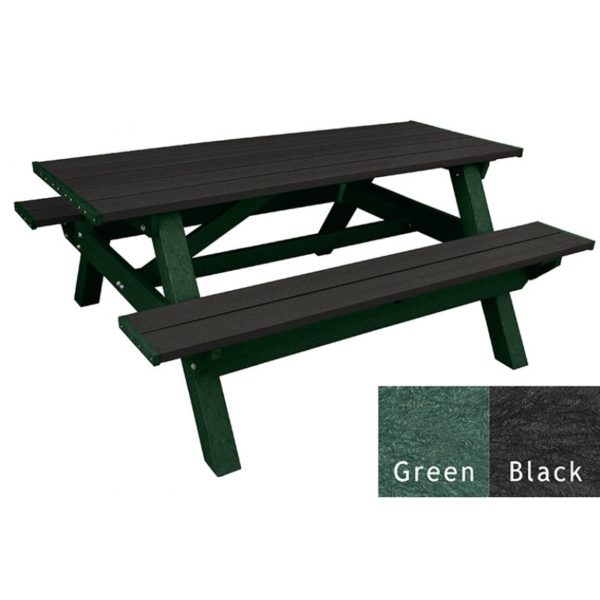 deluxe recycled plastic picnic table 15