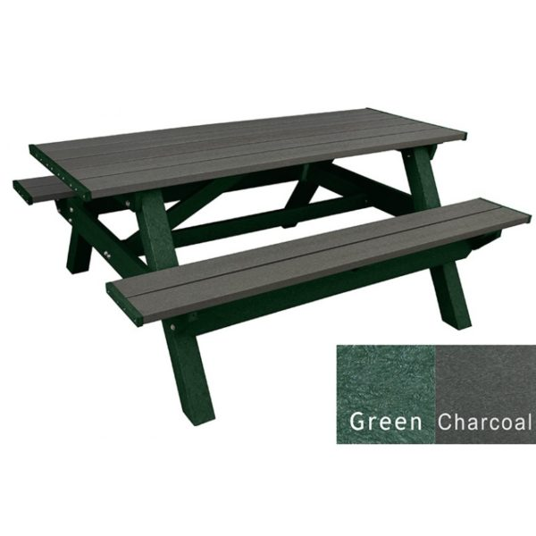deluxe recycled plastic picnic table 18