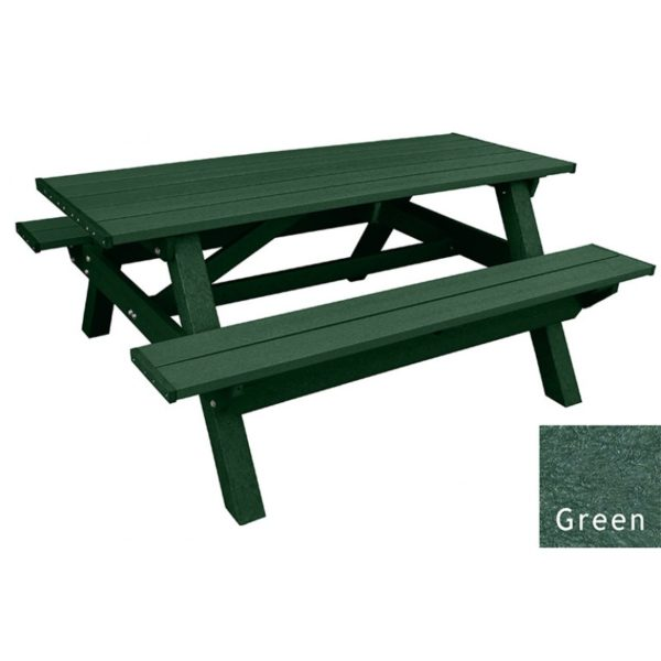 deluxe recycled plastic picnic table 19