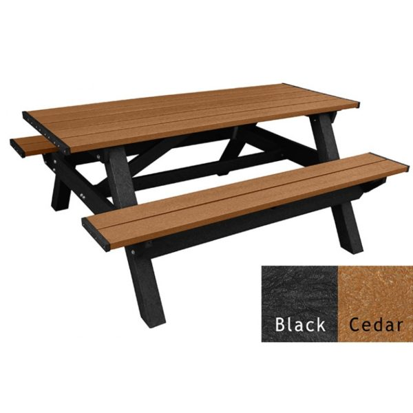 deluxe recycled plastic picnic table 3