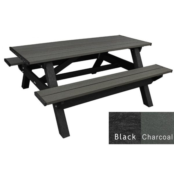 deluxe recycled plastic picnic table 4