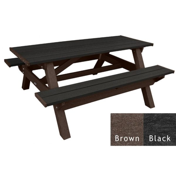 deluxe recycled plastic picnic table 8