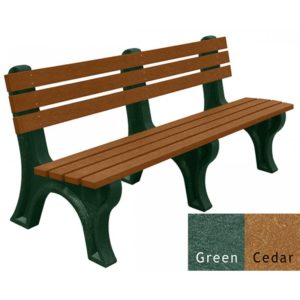 economizer recycled platic bench 13