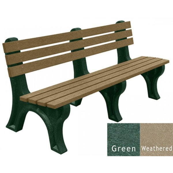 economizer recycled platic bench 17