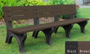 economizer recycled platic bench 18