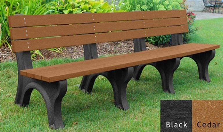 economizer recycled platic bench 19