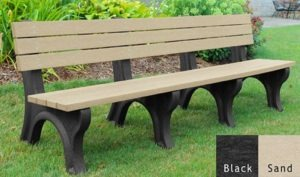 economizer recycled platic bench 22