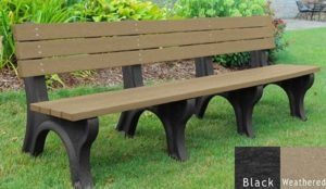economizer recycled platic bench 23