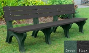 economizer recycled platic bench 32