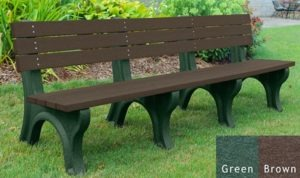 economizer recycled platic bench 33