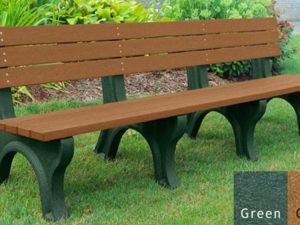 economizer recycled platic bench 34