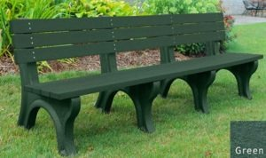 economizer recycled platic bench 36