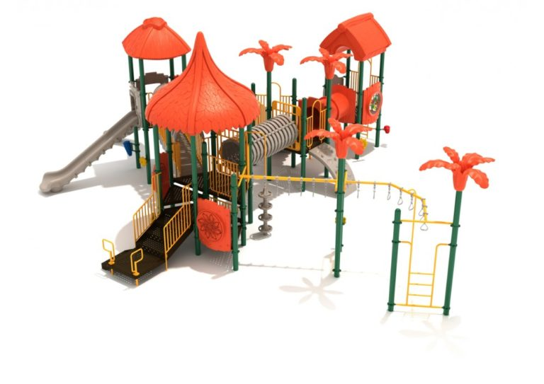 fancy frog commercial playground system 1