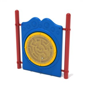 Freestanding Ball Maze Panel with Posts