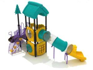 gabbling giraffe commercial playground system 1
