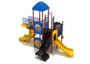 hoosier nest quick ship commercial playground system 3