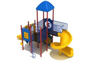 hoosier nest quick ship commercial playground system 4