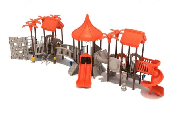 howler hideaway commercial playground system 1