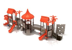 howler hideaway commercial playground system 2