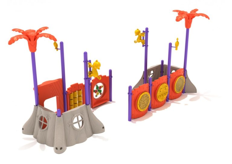 mighty monkey commercial playground system 2