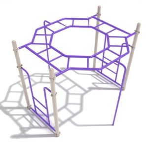 Octagon Rung Horizontal Ladder