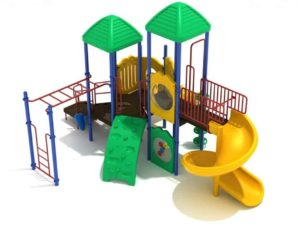 peaks playground quick ship commercial playground system 4