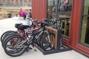 recycled plastic bike rack 10
