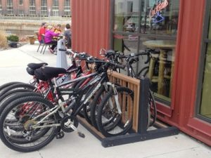 recycled plastic bike rack 10