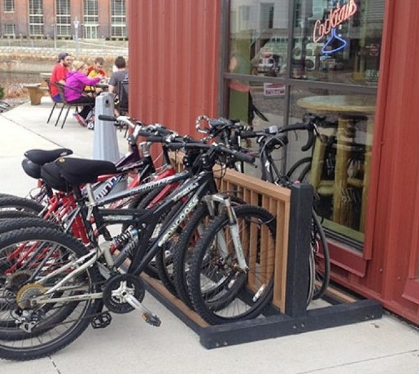 Recycled Plastic Bike Rack Pro Playgrounds The Play