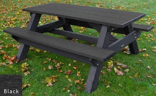 standard recycled plastic picnic table 1