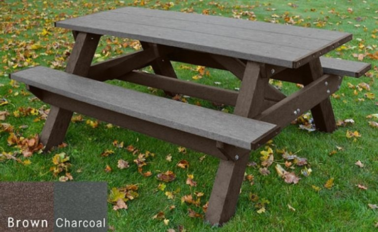 standard recycled plastic picnic table 11