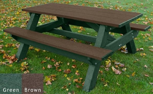 standard recycled plastic picnic table 17
