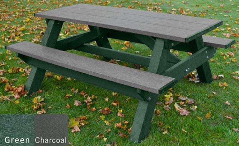 standard recycled plastic picnic table 19