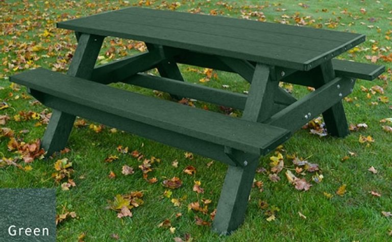standard recycled plastic picnic table 20