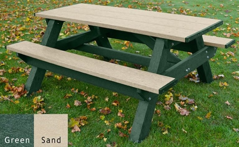 standard recycled plastic picnic table 21