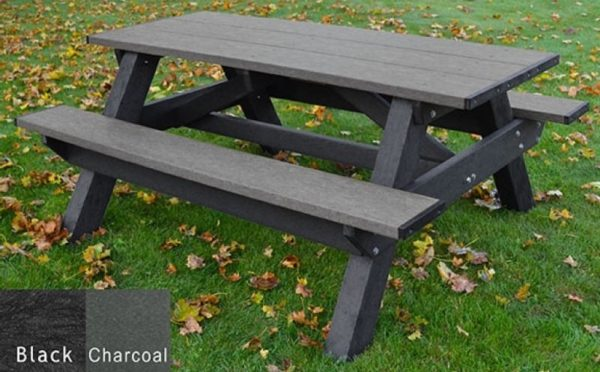 standard recycled plastic picnic table 4