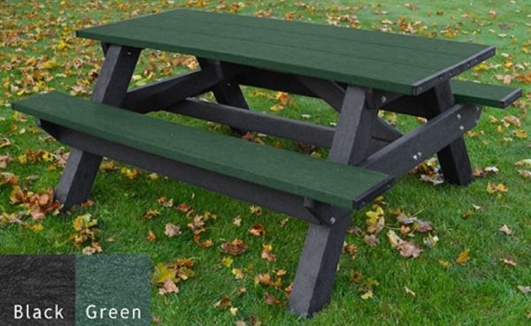 standard recycled plastic picnic table 5