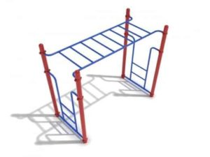 straight rung horizontal commercial ladder 1
