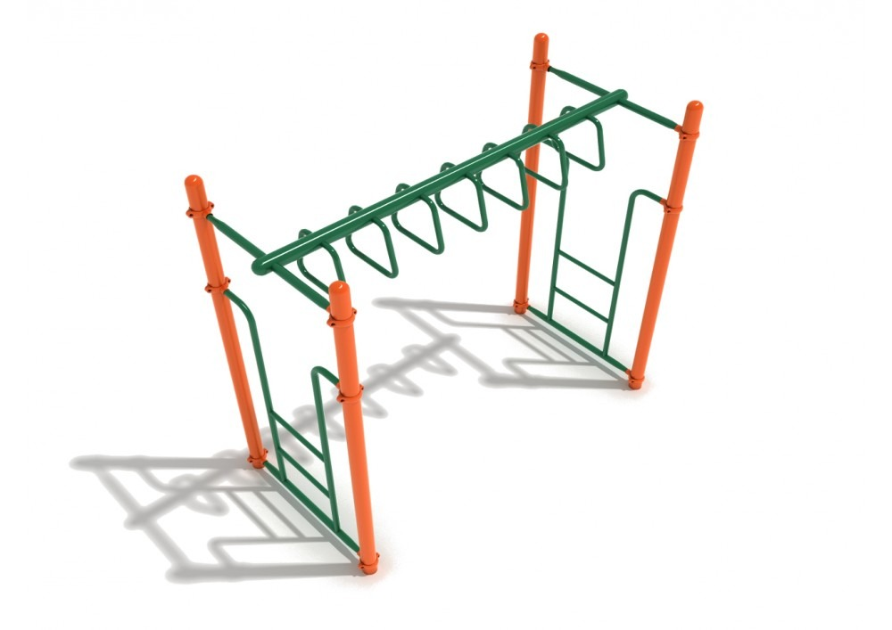straight trapezoid loop commercial ladder 1
