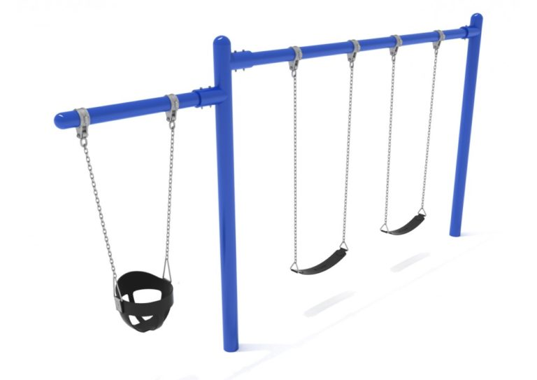 1 cantilever 1 bay commercial swing frame only with hangers 2