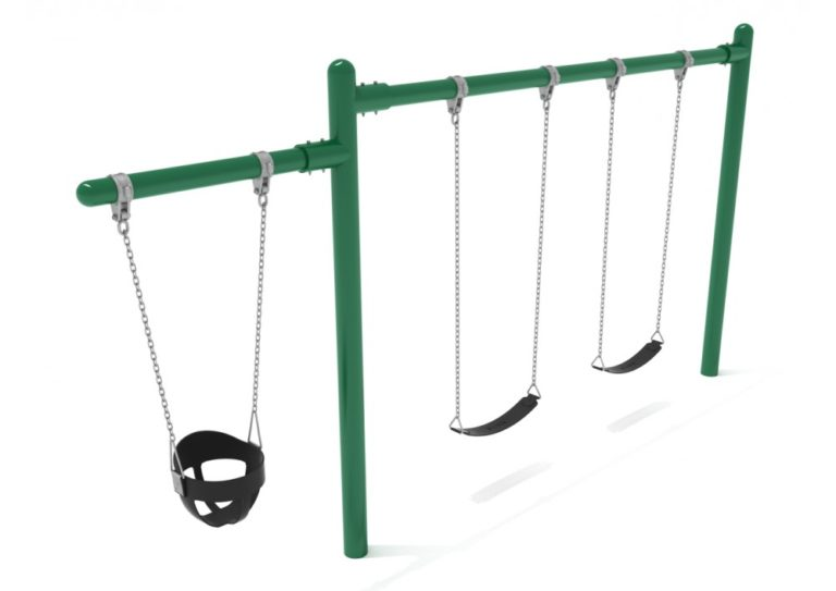 1 cantilever 1 bay commercial swing frame only with hangers 3
