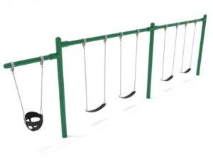 1 cantilever 2 bays commercial swing frame only with hangers 1