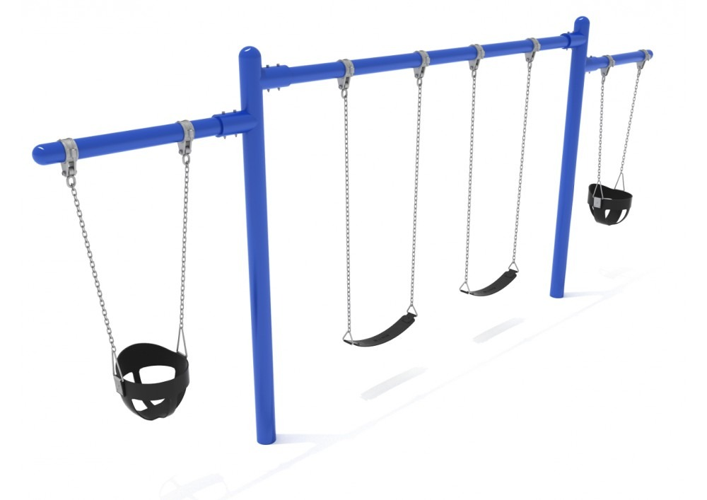 2 cantilevers 1 bay frame only with hangers pro for Swing set frame only