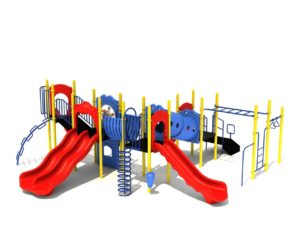 funscapes commercial playground system 3