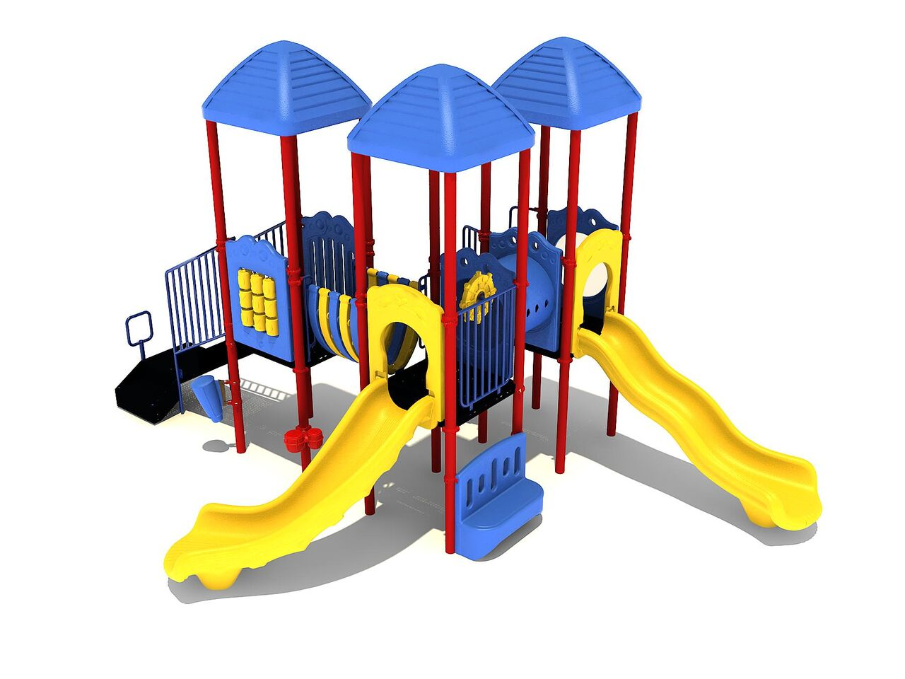 threes company commercial playground system 2