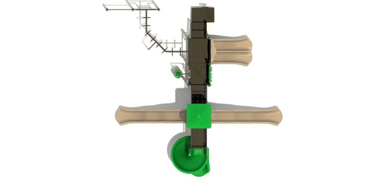 towers of fun commercial playground system 1