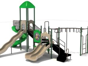 towers of fun commercial playground system 2